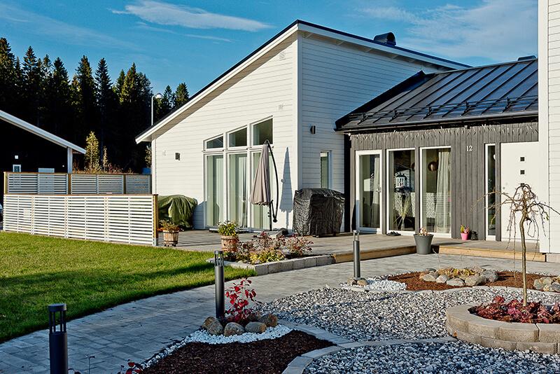 Nyproduktion villa Siriusgatan gård - Creativ Bygg