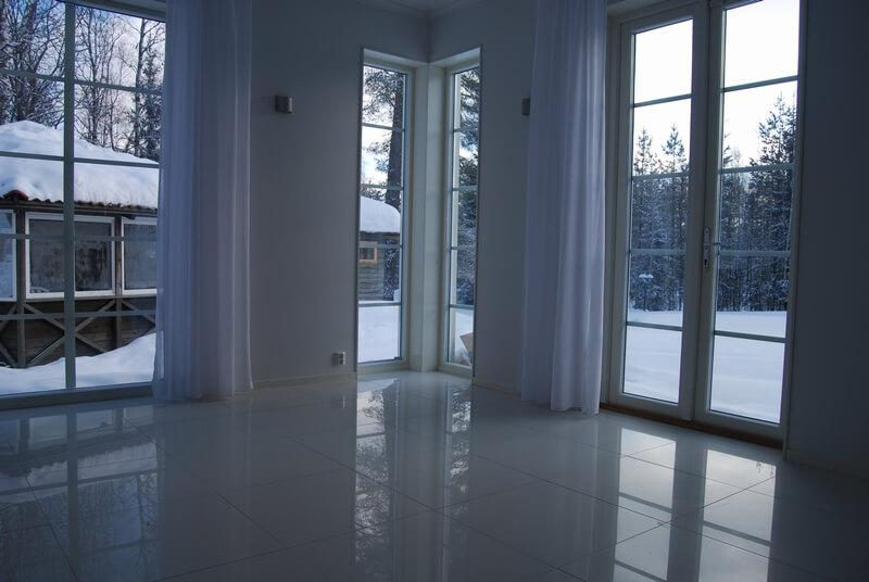 Tillbyggnad renovering vardagsrum golv - Creativ Bygg