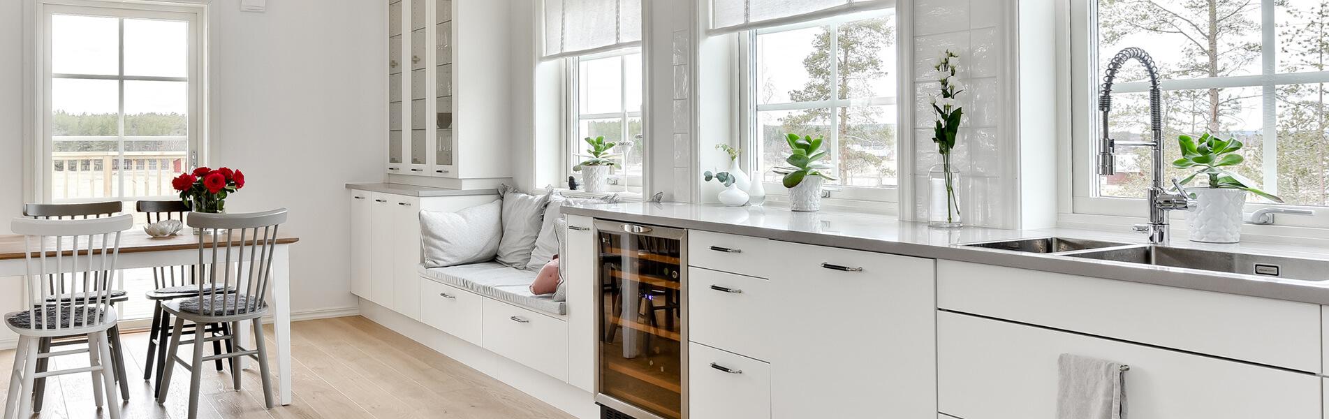 Villa Rödbäck kök - Creativ bygg