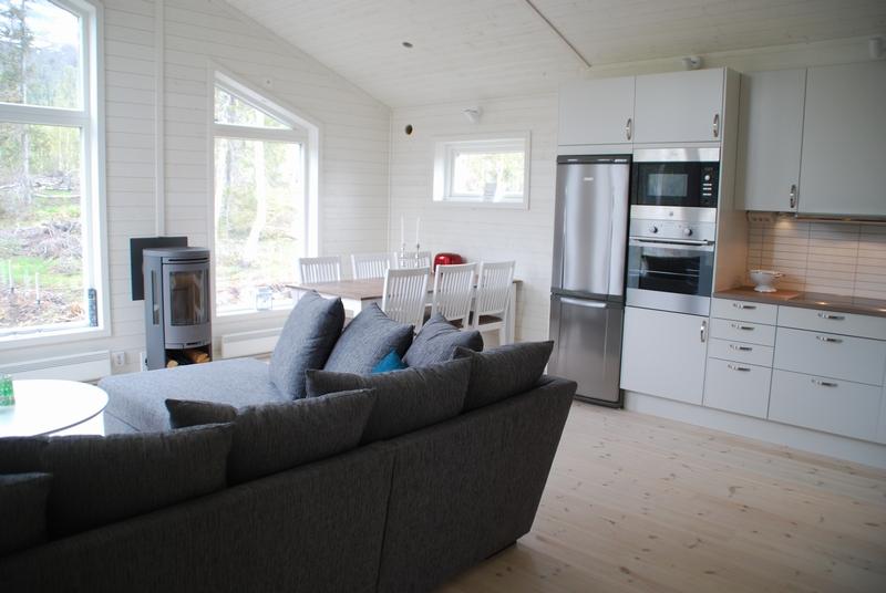 Creativstugan vardagsrum och kök