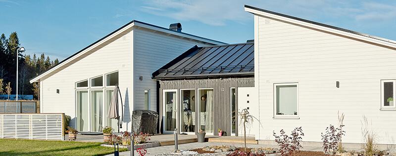 Nyproduktion villa Siriusgatan - Creativ Bygg