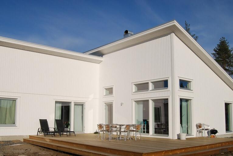 Nyproduktion villa Tavleliden - Creativ Bygg